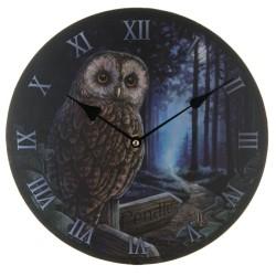 Reloj Búho en el Camino de la Bruja de Lisa Parker