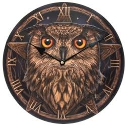 Reloj Búho Sabio diseño de Lisa Parker