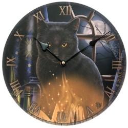 Reloj Gato Embrujado diseño de Lisa Parker