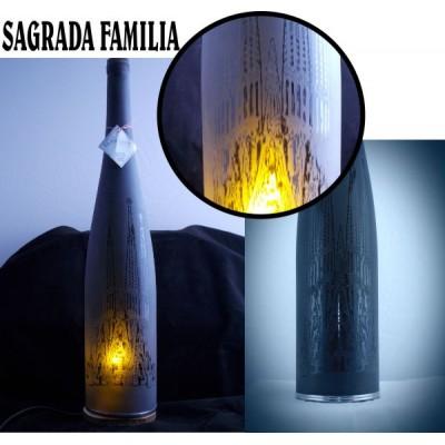 """LAMPATA BOTELLA """"SAGRADA FAMILIA"""""""